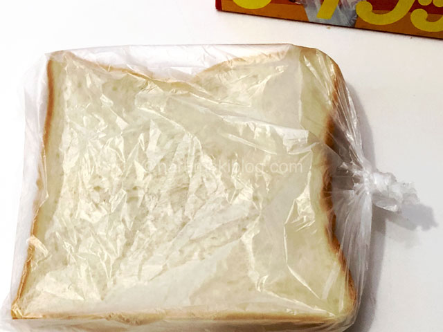 食パンの冷凍保存アイラップ